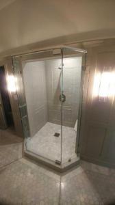 Beveled shower